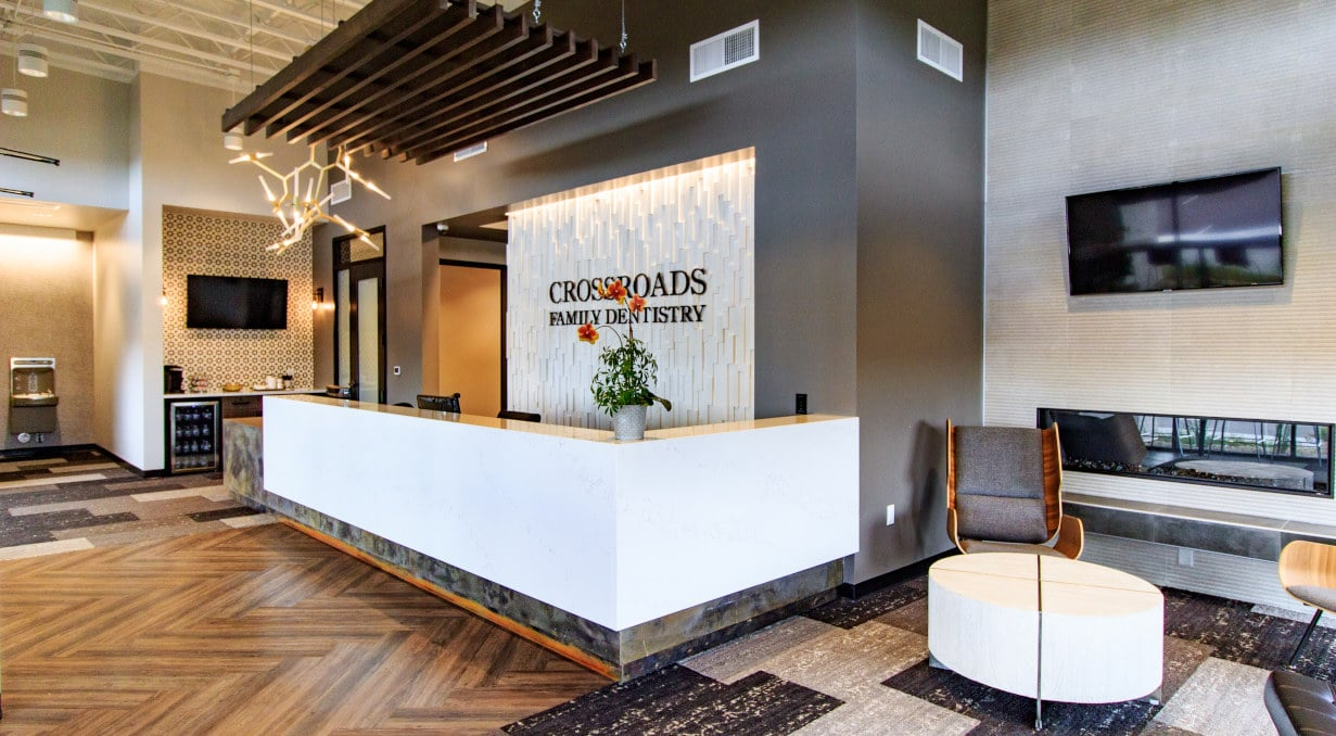 Crossroads Family Dental frontdesk